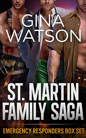 St. Martin Family Saga: Emergency Responders Box Set
